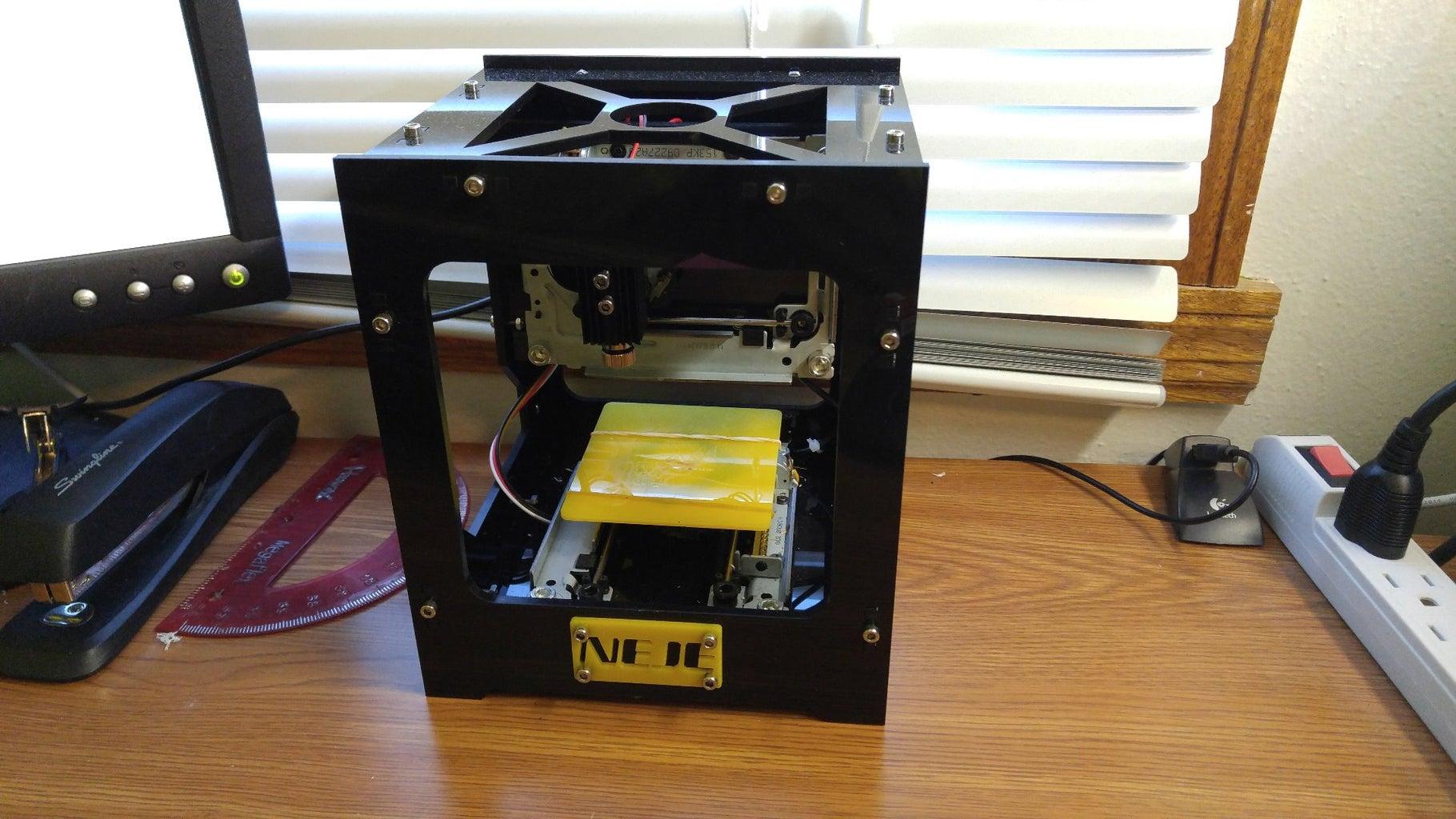 Hardware (The Engraver) Set Up
