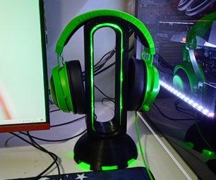 Soporte De Auriculares RGB/耳机支持RGB