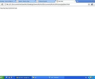 How to Make a Basic 5min Website