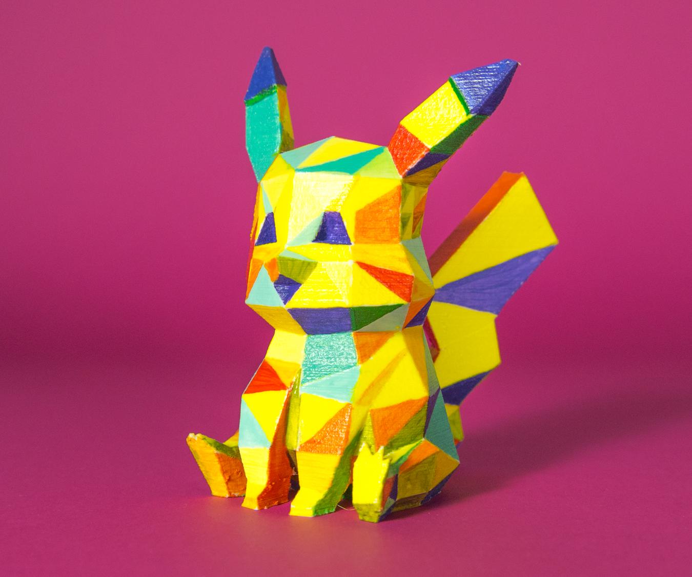 How to 3D print a Pikachu Pokemon