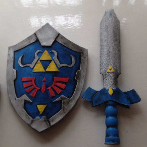 Toddler Hylian Shield and Sword