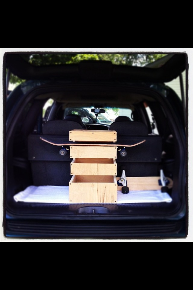 How To Build A Car Skateboard Rack