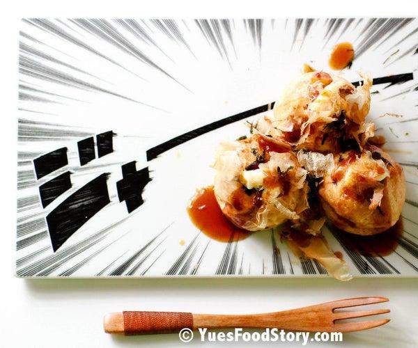 Takoyaki With Cake Pop Pan