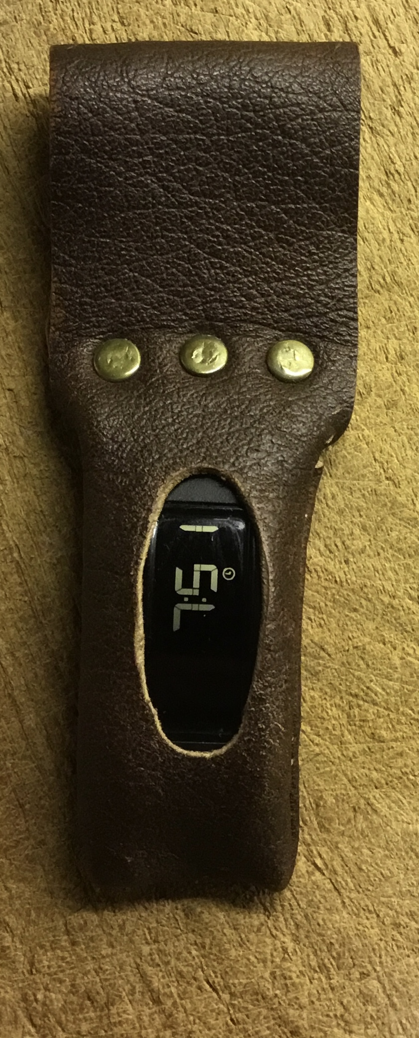 Leather FitBit One Holder
