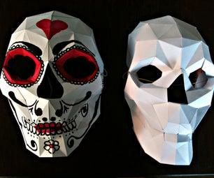 Bonus: Papercraft Skull Mask