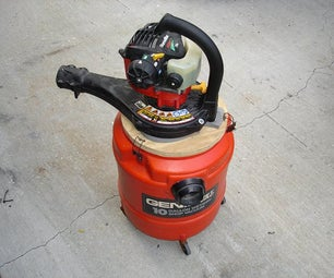 A Gas-powered Vacuum Cleaner for Use in Gold Prospecting