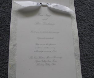 How to Print and Assemble Multi-layer Wedding Invitations