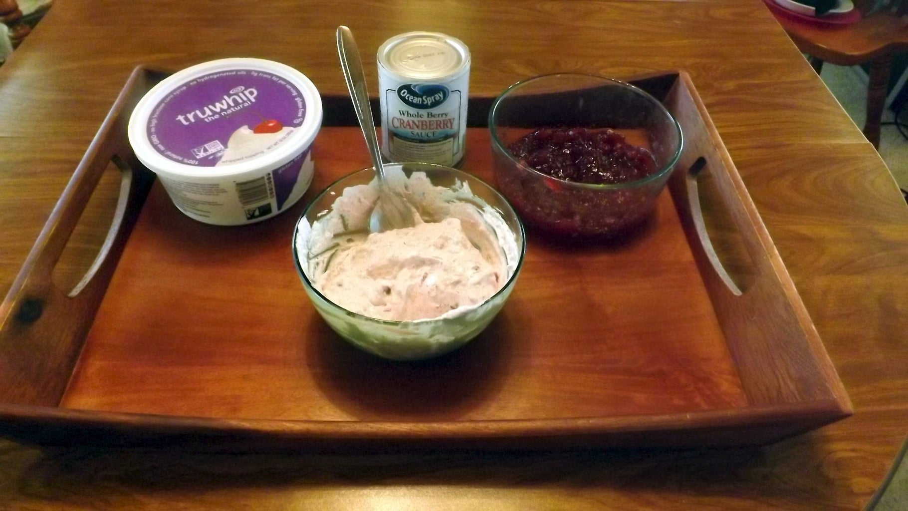 CRANBERRY WHIPPED TOPPING