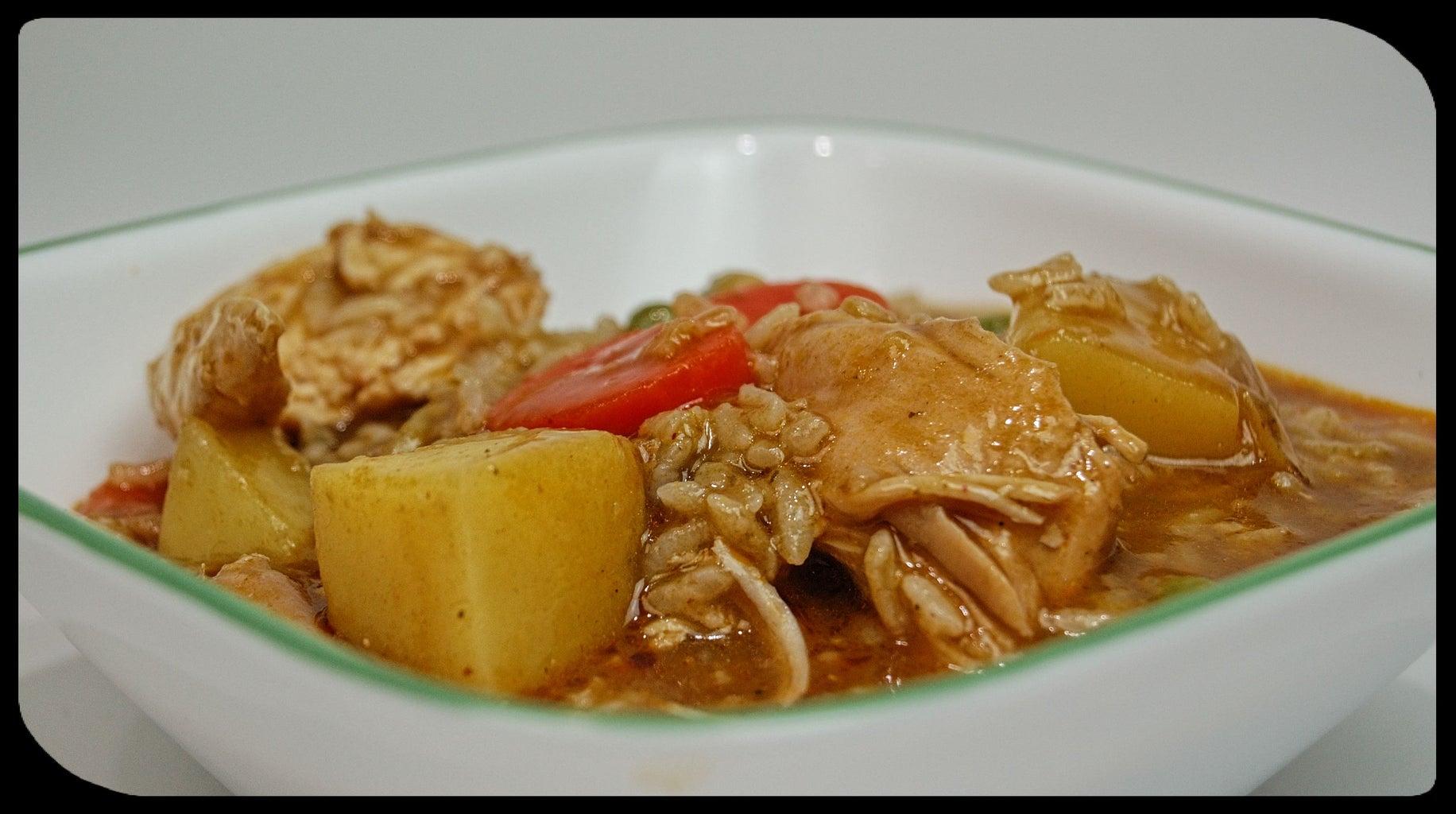 Peruvian Chicken Stew - Aguadito De Pollo