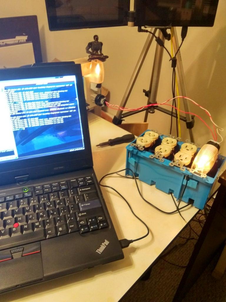Upload Microcontroller Program