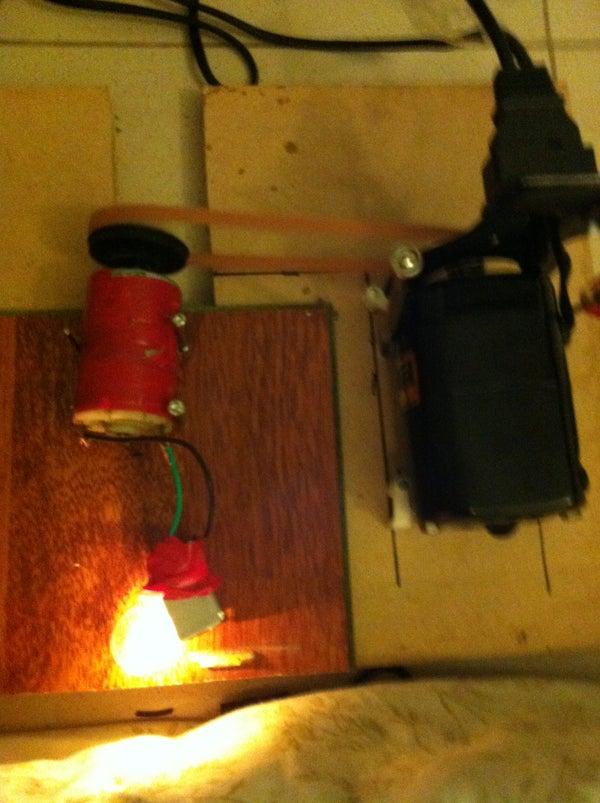 50 Watt Generator From a Simple Motor ( Alternator)