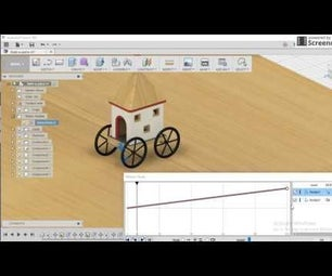 """Creating a model of """"Rath"""" (Chariot) in Fusion 360"""