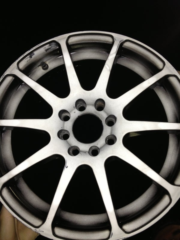 How I Painted My Rims