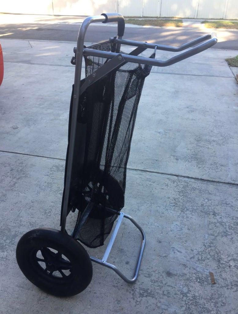 Beach Cart Balloon Sand Tire Conversion