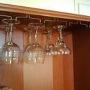 Free Hanging Glass Rack