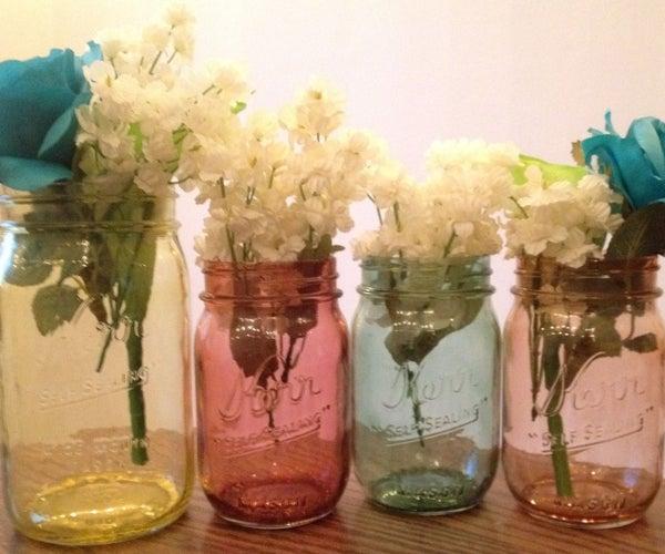How to Make Jars Look Vintage