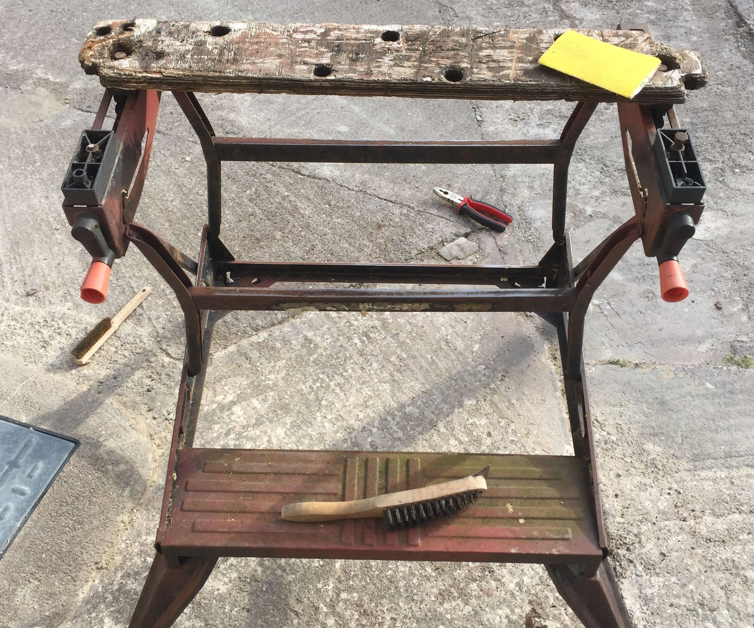 Restore an Old Workmate Bench