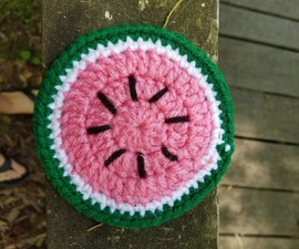 Summer Watermelon Coasters