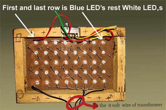 12 Volt A C Led Lamp 3 Steps Instructables