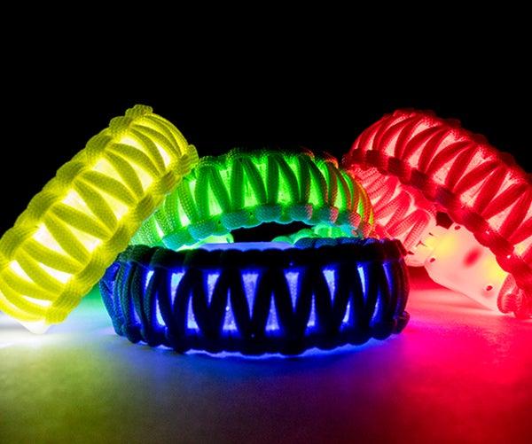 How to Make a Flashing LED Paracord Bracelet