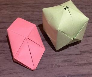 Origami Water Bomb (A.K.A. Paper Balloon)