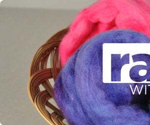 Roving Rainbow - Dyeing Fleece With Acid Dyes