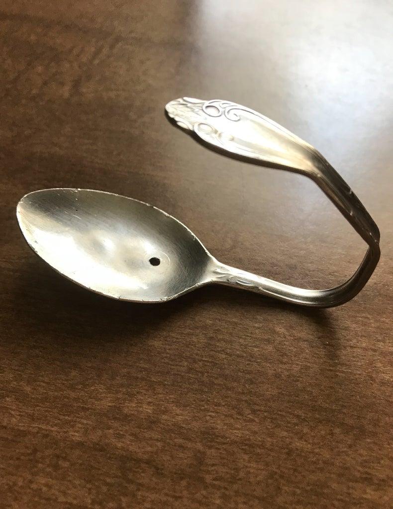 Bend Spoon Into Hook