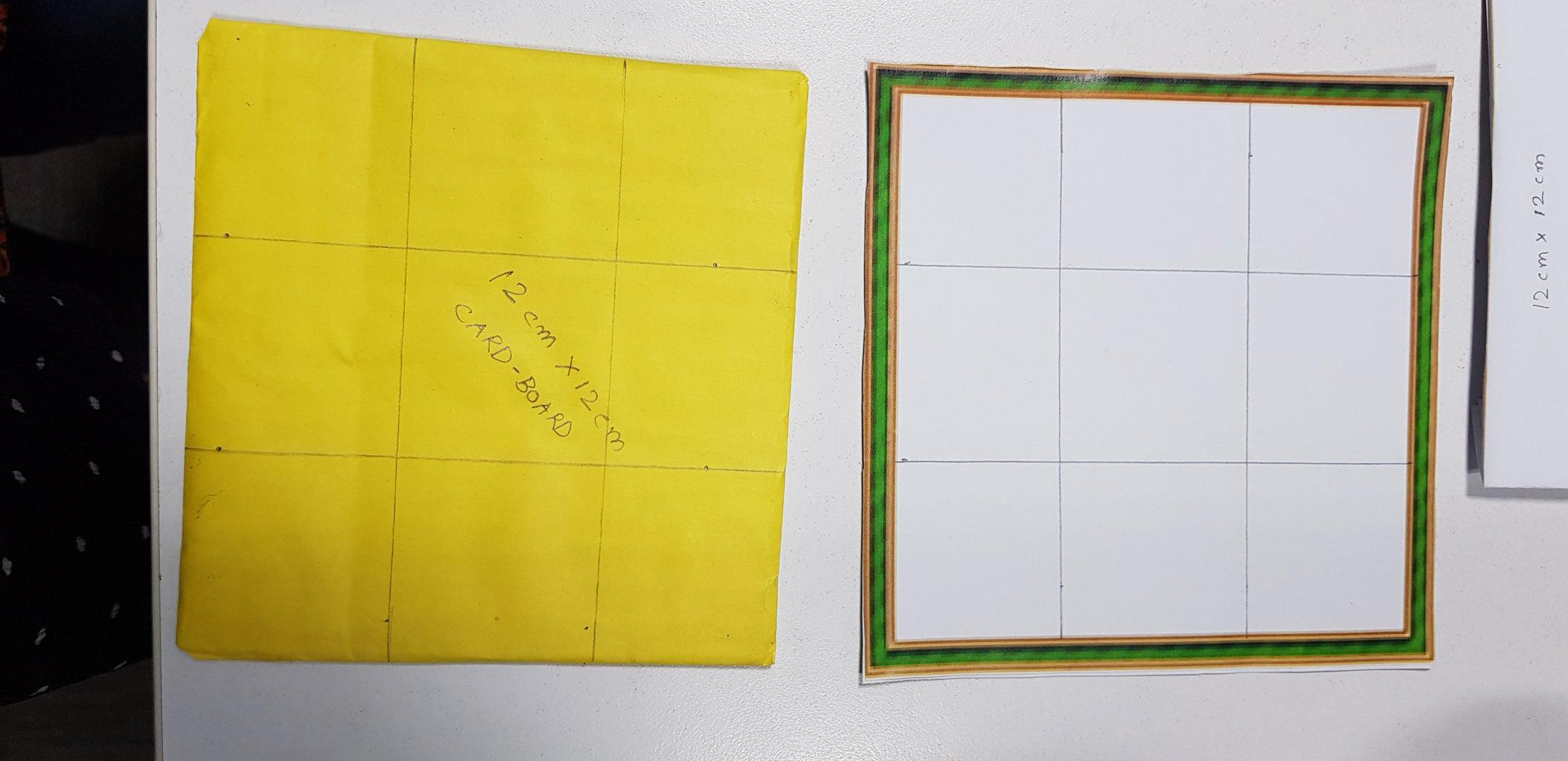 Making of Tic Tac Toe Board