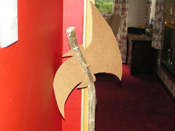 Wooden Model Axe