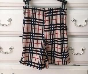 Turning a Shirt Into Shorts