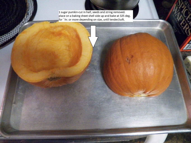 Baking Your Pumpkin