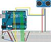 Interfacing Ultrasonic Sensor and LCD Display With Arduino Uno