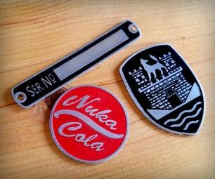 Making Enamel Badges