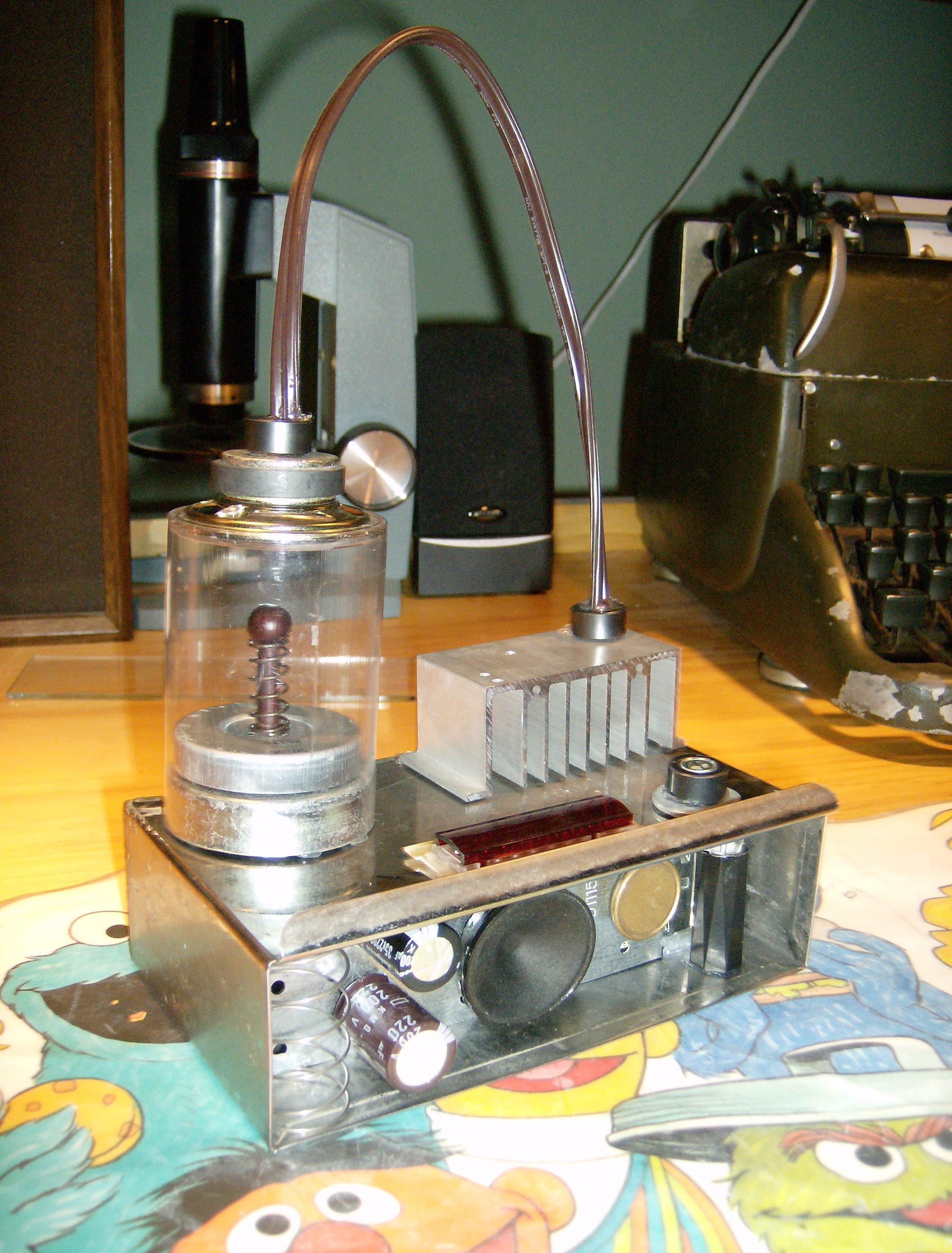 Mad Scientist Worm-hole Generator