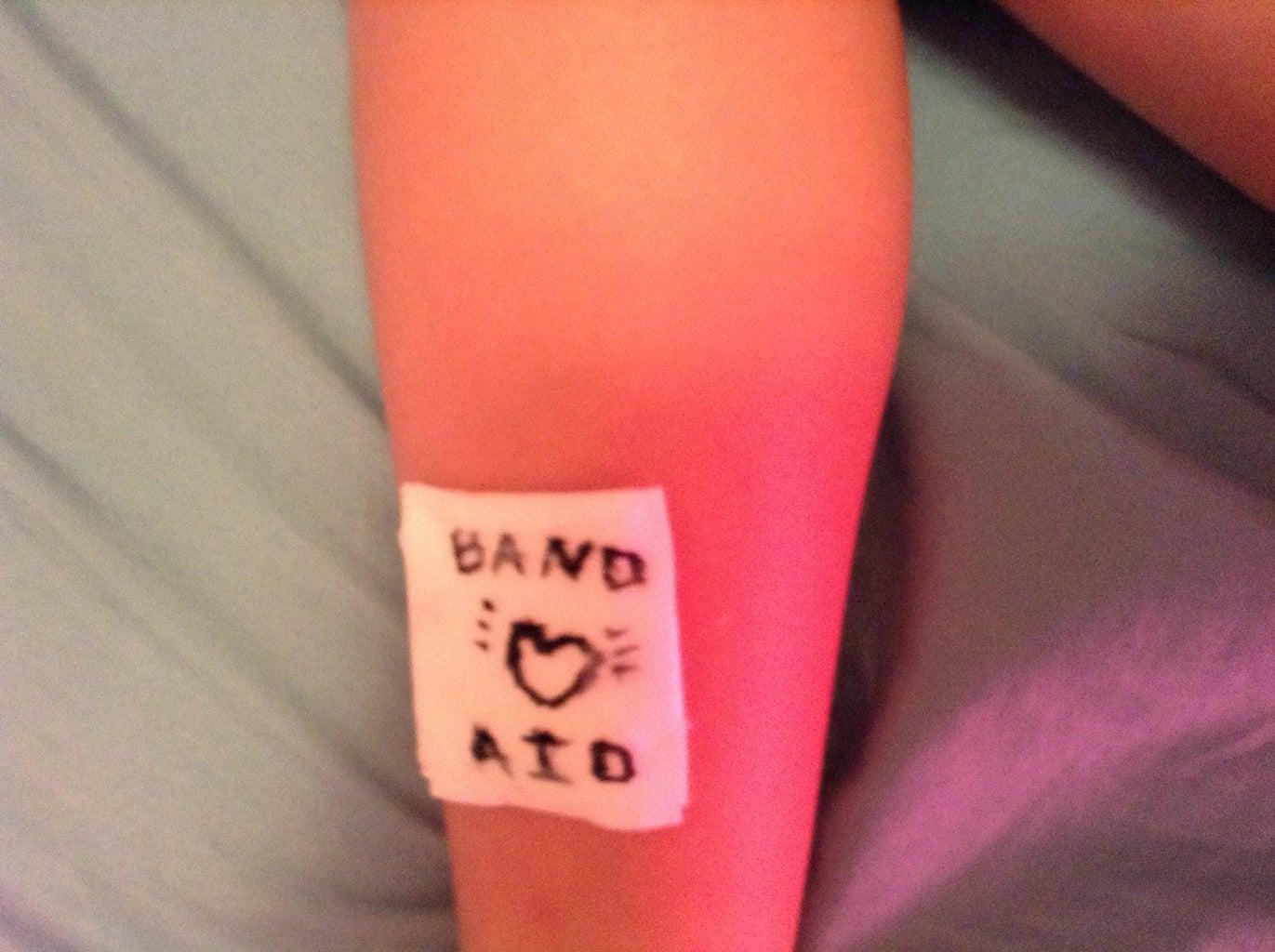 Homemade Bandage