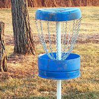 DIY Disc Golf Target