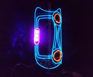 Electro-Luminescent Thigh Pad