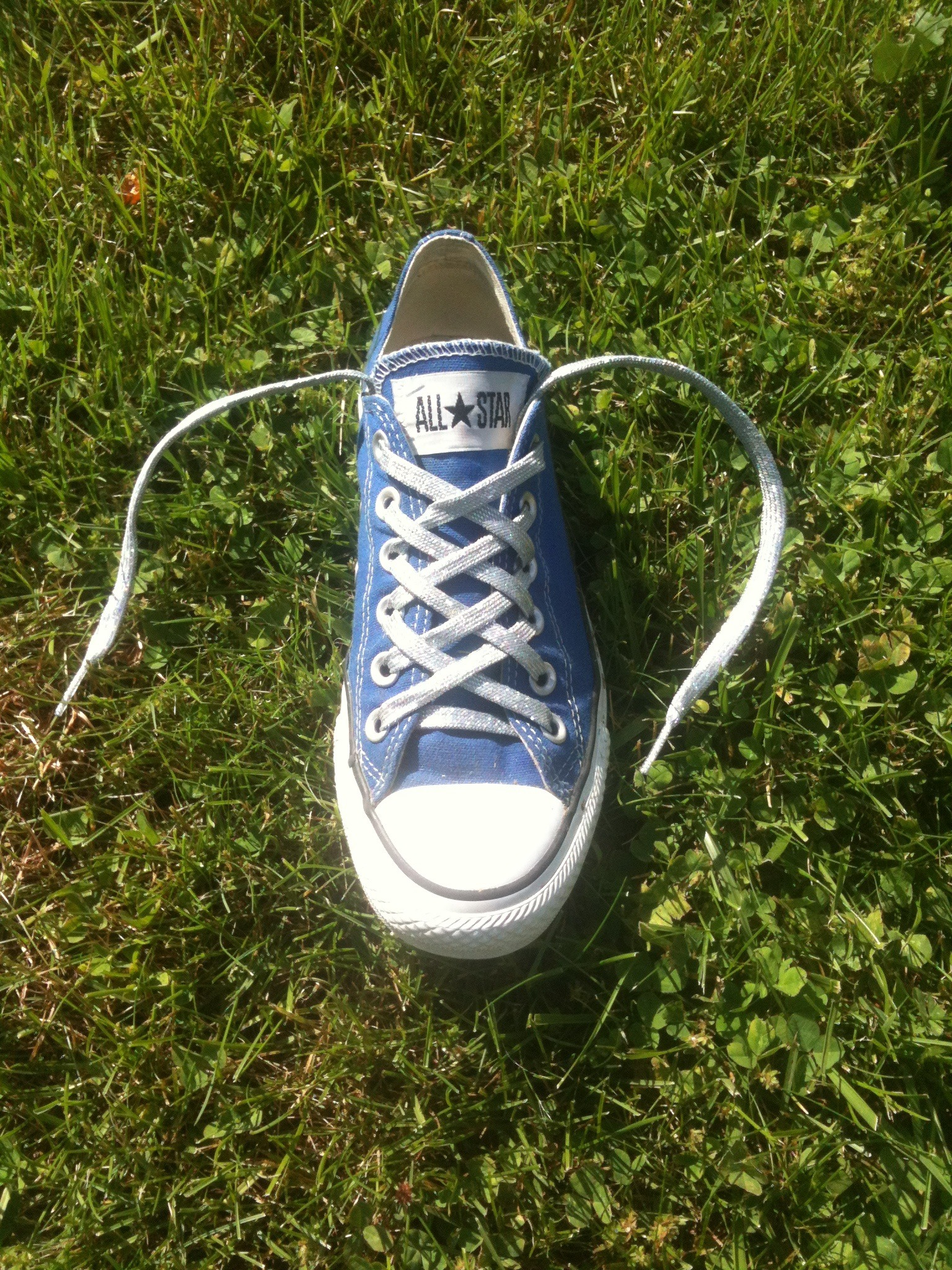 How To Double LatticeYour Converse