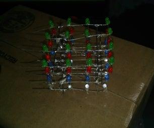 4x4x4 Multi Led Cube