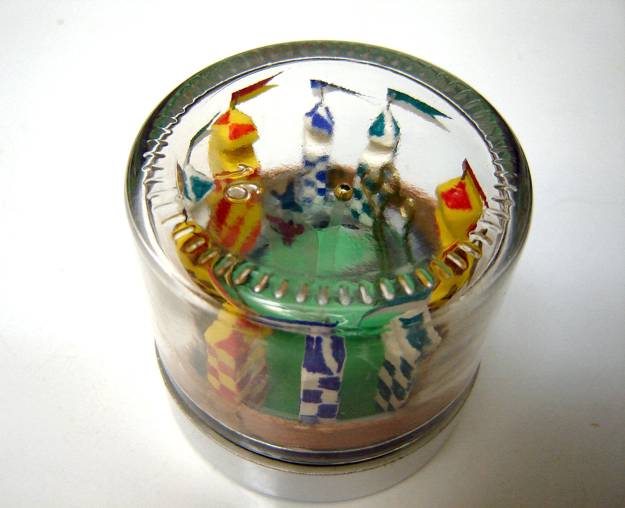 Quidditch Diorama Clock