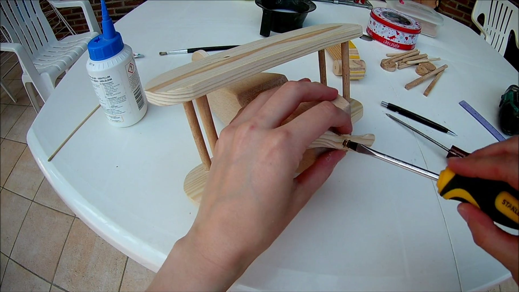 Step 4: the Assembly