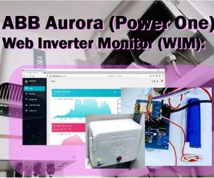 Inverter Aurora ABB (Power One) Web Monitor (WIM) With Esp8266