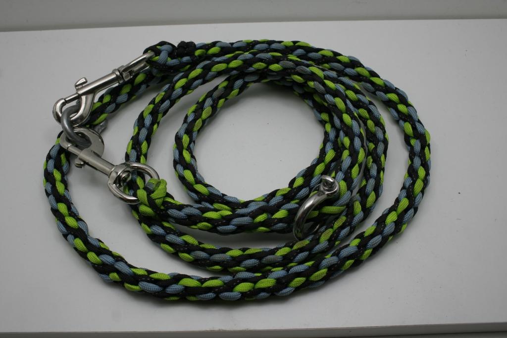 Kumihimo dog leash