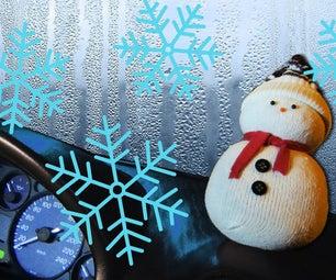 DIY Snowman | Stop Car Windows Steaming Up