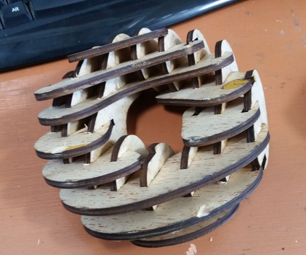 Laser Cut a 3D Object Using 123D Make