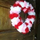 Valentine's Day Pom-Pom Wreath