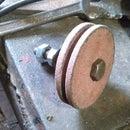 Knife sharpener for drill press