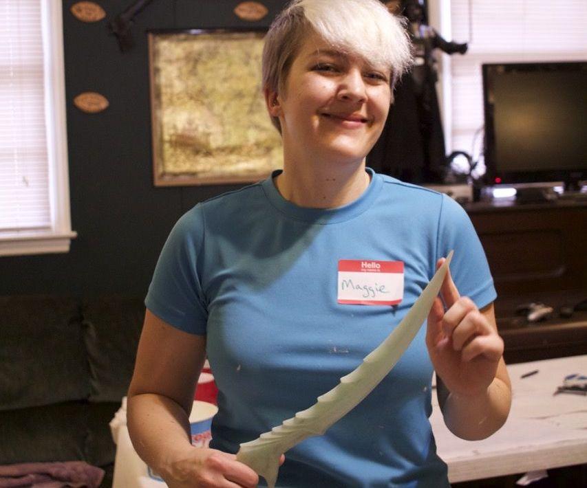 Cosplay Props Casting: Skyrim Dagger