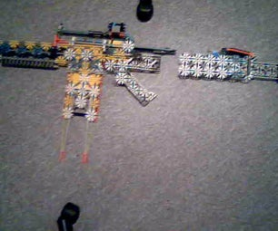 My Knex Assault Rifle