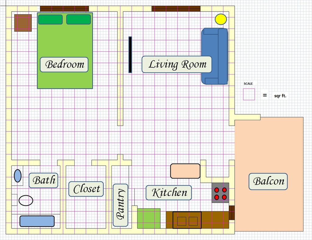 Create Floor Plan Using MS Excel : 4 Steps (with Pictures